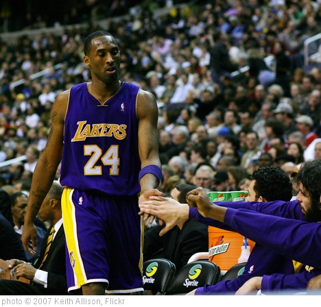 'Kobe Bryant' photo (c) 2007, Keith Allison - license: http://creativecommons.org/licenses/by-sa/2.0/