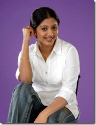 gopika in white dress