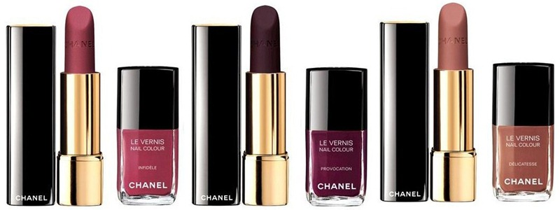 Les Twin Set, Chanel maquillage, Chanel Makeup, Chanel Le Verins, Chanel Allure Velvet