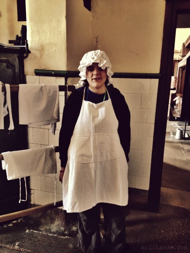 Scullery Maid, Art Inspiration at Petworth House , West Sussex , Victorian Era Aestetics
