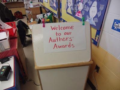 手書きの案内 Author's Awards
