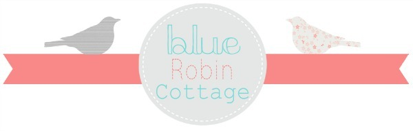blue robin cottage logo
