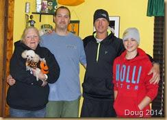 Dolly, Fergie, Ben, Steve, Nick