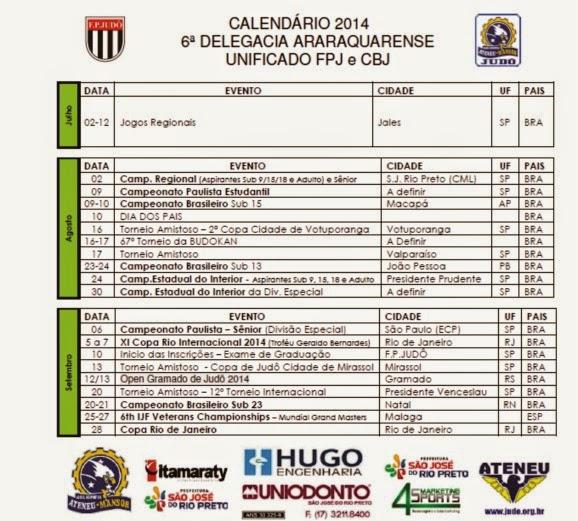 3º Trimestre 2014 - ATUALIZADO JULHO