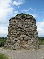 Monument on the Culloden Battlefield