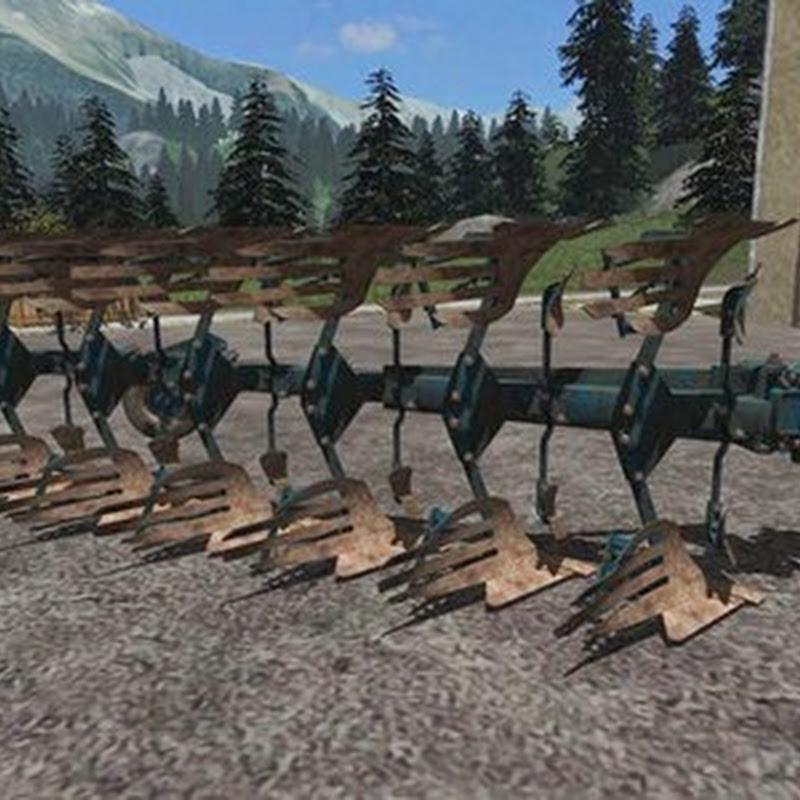Farming simulator 2013 - Rabe Werk 6 furrow plow v 1.1