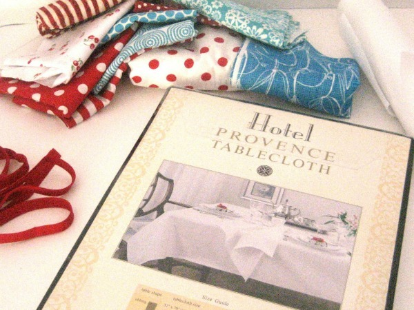 bunting tablecloth supplies