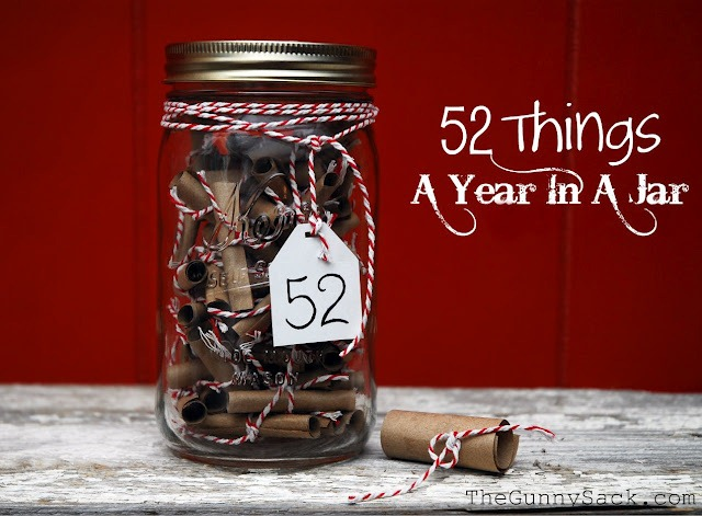 52 ways I love you in a jar