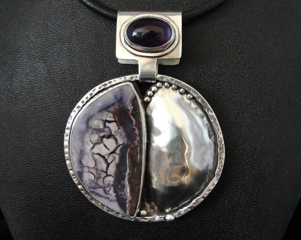 Bertrandite (Tiffany Stone) w/Amethyst.....Sold