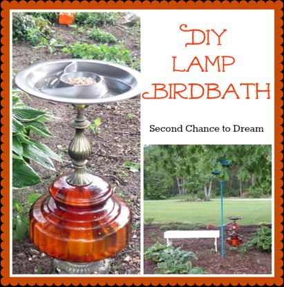 Lamp Birdbath