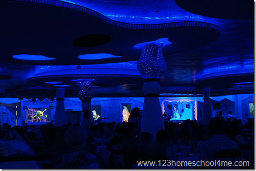 Animator's Palate Show on Disney Transatlantic Cruise