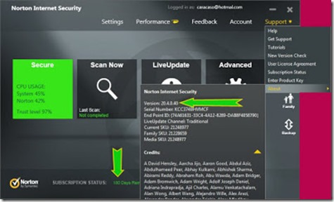 Norton Internet Security 2013 20.4.0.40 pic