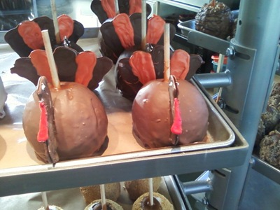 gobble gobble candied apples