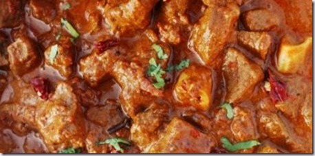 rajasthani lamb curry red chillis