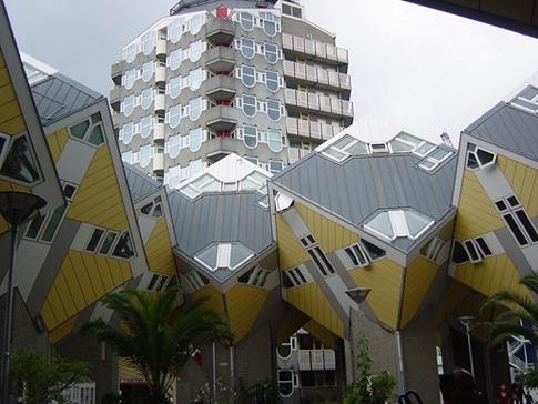 49. Casas cúbicas (Rotterdam, Holanda)