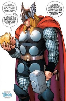 Holding My Head Thor Donald Blake pinup l