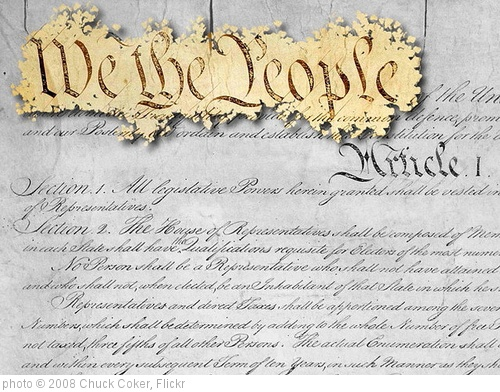 'We the People' photo (c) 2008, Chuck Coker - license: http://creativecommons.org/licenses/by-nd/2.0/