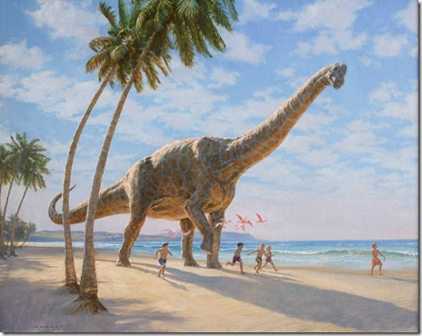 dinozauri si copii