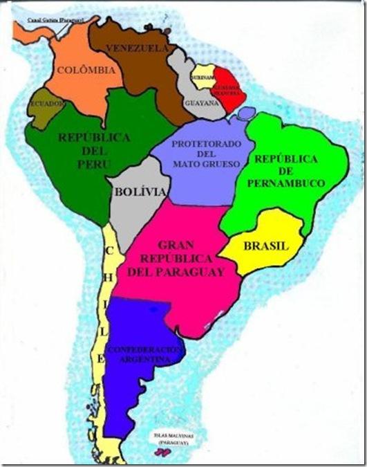 Profecia 09 America do Sul idealizada