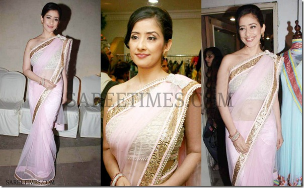 Urmila_Pink_Saree