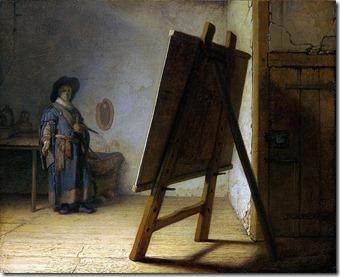 rembrandt masterpiece studio