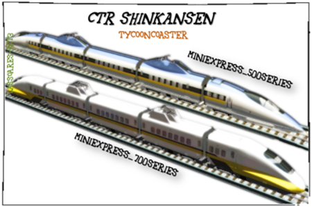 CTR Shinkansen (TycoonCoaster) lassoares-rct3