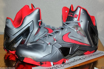 nike lebron 11 ps elite silver crimson camo 1 01 Nike LeBron XI PS Elite Wolf Grey Initial Drop in April for $275