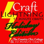craft lightning holiday150 button