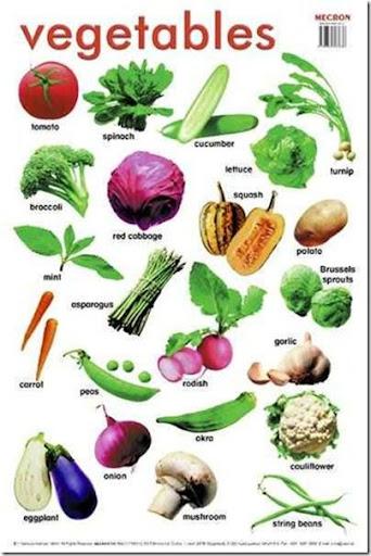 essay on vegetables for kids