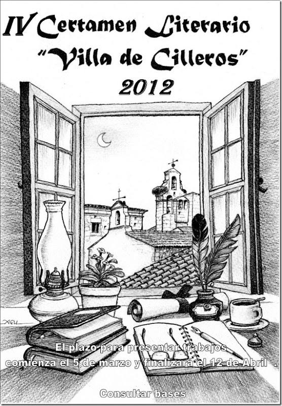 CARTEL CERTAMEN LITERARIO 2012