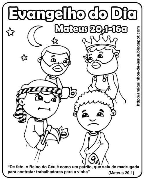 o-reino-é-dom-gratuito-evangelho-do-domingo-para-colorir-mateus-20,1-16a