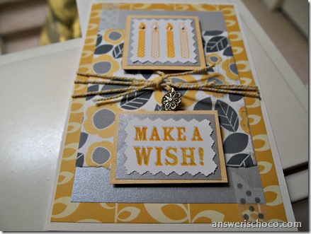 Yellow and Silver Birthday