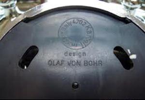 Olaf von Bohr 4702 (4703) hook for Kartell, chrome