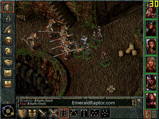 Baldur's Gate 1 Gnoll Fortress