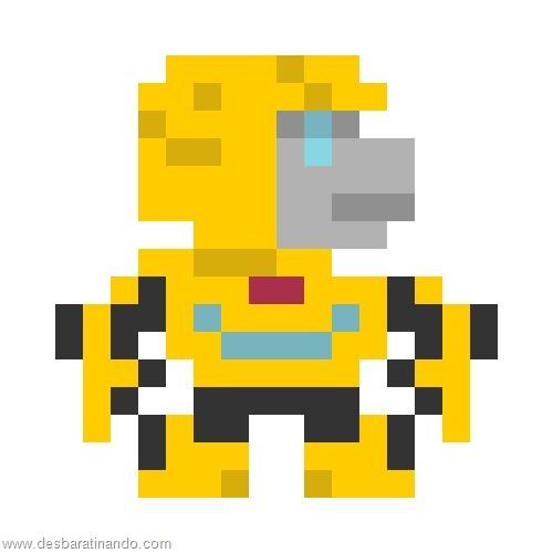 super herois e viloes em 8 bits transformers  (4)