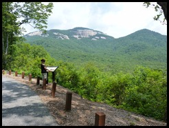 Hiking in Table Rock S.P SC