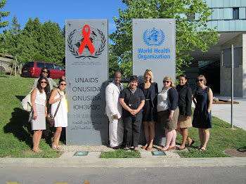'Wagner's International Health Policy class visits the WHO' Photo by Vivian Yela