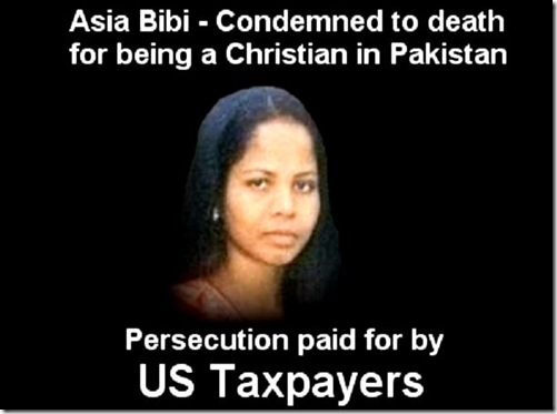 Asia Bibi - Persecution PD for by US taxpayers
