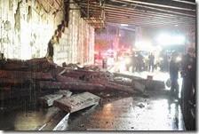 Crollo pezzo ponte Brooklyn