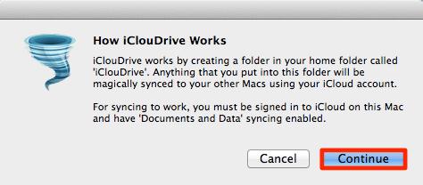 2Mac App iClouDrive