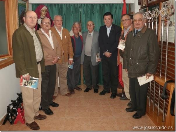 Los refundadores y el secretario general que mantuvieron la reunión