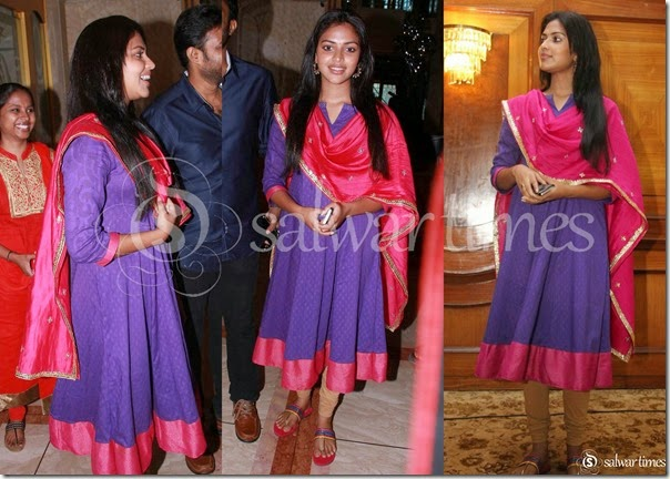 Amala_Paul_Blue_Peach_Salwar_Kameez