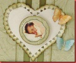 Grönt baby kort (1)