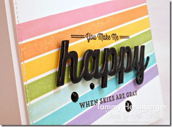 You Make Me Happy close-up by Tammy Hershberger for Dare to Get Dirty