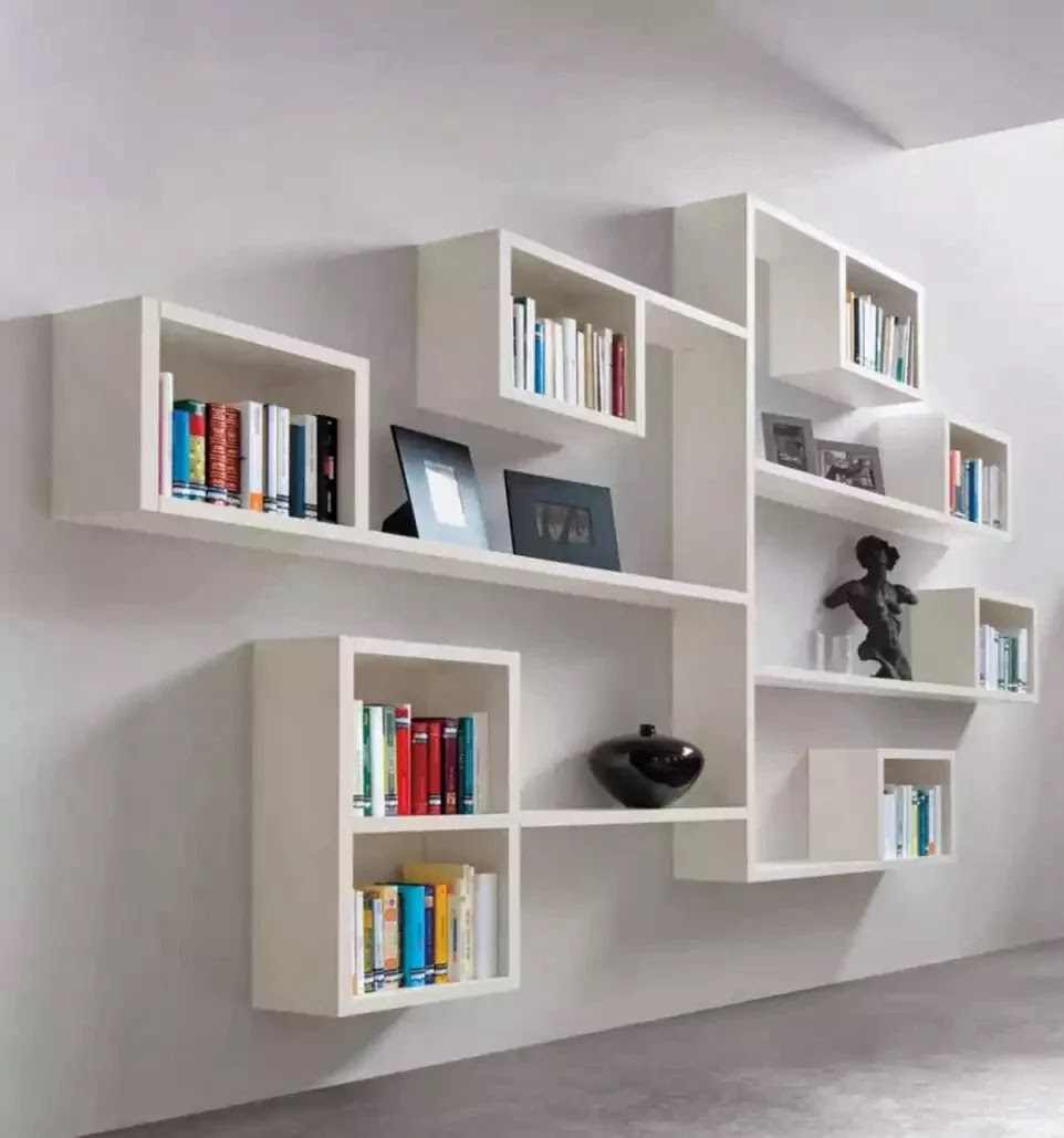 Weekend project wall shelving ideas from pallet - Bookshelf design on wall ...