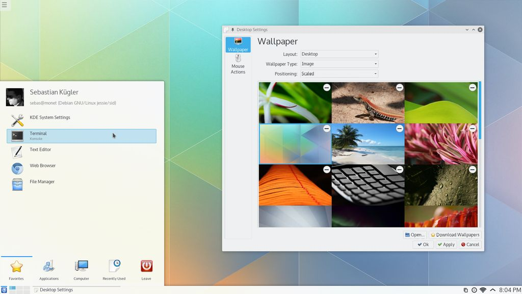 KDE Plasma Next Beta 2