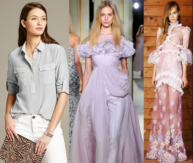 Pastels fashion trends for spring 2014