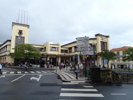 Obiective turistice Madeira: Piata din Funchal