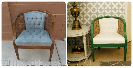 how to transform thrift store furniture