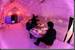 imagini ice hotel